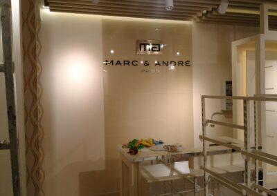 Комплексное рекламное оформление MARC&ANDRE